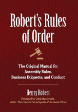 Omslag - Robert's Rules of Order