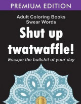 Omslag - Adult Coloring Books Swear words