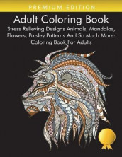Adult Coloring Book av Adult Coloring Books, Coloring Books for Adults Relaxation og Coloring Books for Adults (Heftet)