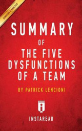 Omslag - Summary of the Five Dysfunctions of a Team