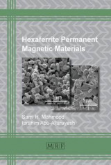 Omslag - Hexaferrite Permanent Magnetic Materials