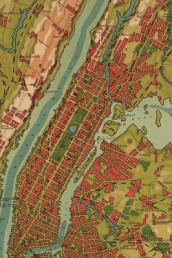 NYC (1910 map) 4x6 Field Journal / Field Notebook / Field Book / Memo Book / Pocket Notebook (100 pages/50 sheets) (Heftet)