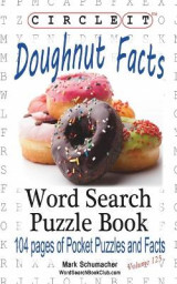 Omslag - Circle It, Doughnut / Donut Facts, Word Search, Puzzle Book