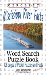 Omslag - Circle It, Mississippi River Facts, Word Search, Puzzle Book