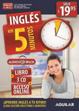 Omslag - Inglas En 5 Minutos - Audiopack / English in 5 Minutes - Audiopack