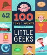 Omslag - 100 First Words for Little Geeks