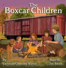 The Boxcar Children av Gertrude Chandler Warner og Jim Weiss (Lydbok-CD)
