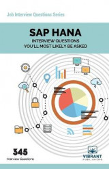 Omslag - SAP Hana Interview Questions You'll Most Likely Be Asked