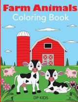 Omslag - Farm Animals Coloring Book