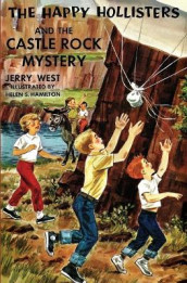 The Happy Hollisters and the Castle Rock Mystery av Jerry West (Heftet)