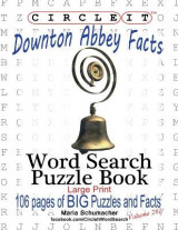 Omslag - Circle It, Downton Abbey Facts, Word Search, Puzzle Book