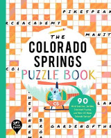 Omslag - The Colorado Springs Puzzle Book
