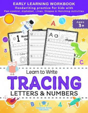 Learn to Write Tracing Letters & Numbers, Early Learning Workbook, Ages 3 4 5 av Scholastic Panda Education (Heftet)