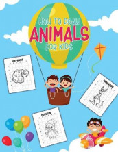 How To Draw Animals For Kids av Aimee Michaels (Heftet)