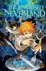 Omslag - The Promised Neverland, Vol. 8