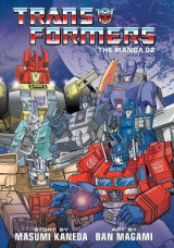 Omslag - Transformers: The Manga, Vol. 2