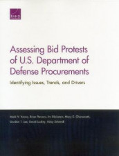 Assessing Bid Protests of U.S. Department of Defense Procurements av Mark V Arena, Irv Blickstein, Mary E Chenoweth, Gordon T Lee, David Luckey, Brian Persons og Abby Schendt (Heftet)