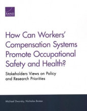 How Can Workers' Compensation Systems Promote Occupational Safety and Health? av Nicholas Broten og Michael Dworsky (Heftet)