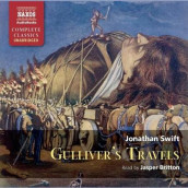 Gulliver's Travels av Jonathan Swift (Lydbok-CD)