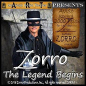 Zorro: The Legend Begins av Joy Jackson, Johnston McCulley og Daryl McCullough (Lydbok-CD)