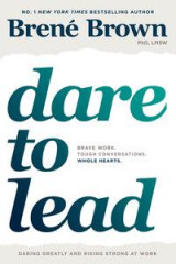 Omslag - Dare to lead - brave work. tough conversations. whole hearts.