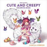 Omslag - Pop Manga Cute and Creepy Coloring Book