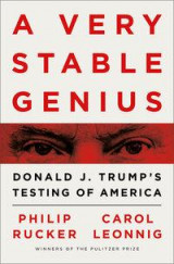 Omslag - A very stable genius