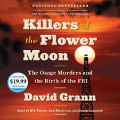 Killers of the Flower Moon av David Grann (Lydbok-CD)
