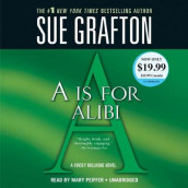 A is for Alibi av Sue Grafton (Lydbok-CD)