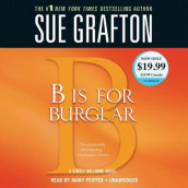 B Is for Burglar av Sue Grafton (Lydbok-CD)