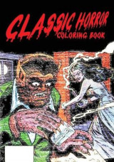 Omslag - Classic Horror Coloring Book