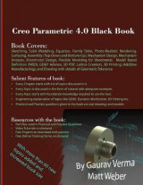 Omslag - Creo Parametric 4.0 Black Book