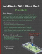 Omslag - Solidworks 2018 Black Book (Colored)