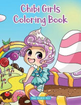 Omslag - Chibi Girls Coloring Book