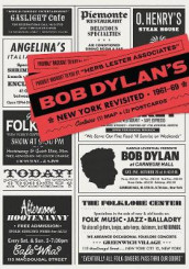 Bob Dylan's New York Revisited av Herb Lester (Kart, falset)