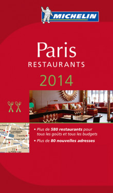 Paris 2014 (MI rød guide) av Michelin (Heftet)