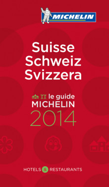 Sveits 2014 (MI rød guide) av Michelin (Heftet)
