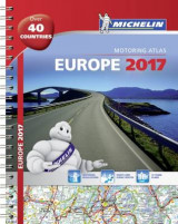 Omslag - Michelin Europe 2017 Atlas 2017