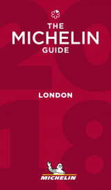 Omslag - Michelin Guide London 2018