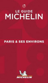 Omslag - Paris & ses environs - The MICHELIN guide 2018 2018