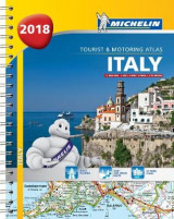 Omslag - Italy - Tourist and Motoring Atlas 2018 (A4-Spiral) 2018