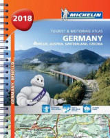 Omslag - Germany, Benelux, Austria, Switzerland, Czech Republic 2018 - Tourist and Motoring Atlas (A4-Spiral) 2018