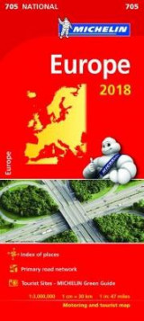 Omslag - Europe 2018 National Map 705