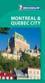 Omslag - Montreal & Quebec City Michelin Green Guide