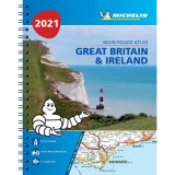 Omslag - Great Britain & Ireland 2021 - Mains Roads Atlas (A4-Spiral)