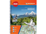 Omslag - Germany, Benelux, Austria, Switzerland, Czech Republic 2020 - Tourist and Motoring Atlas (A4-Spiral)