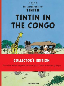Tintin in the Congo av Herge (Innbundet)