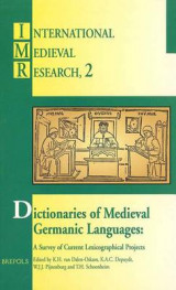 Omslag - Dictionaries Medieval Germanic Lang