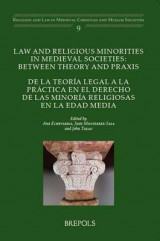 Omslag - Law and Religious Minorities in Medieval Societies