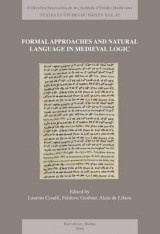 Omslag - Formal Approaches and Natural Language in Medieval Logic